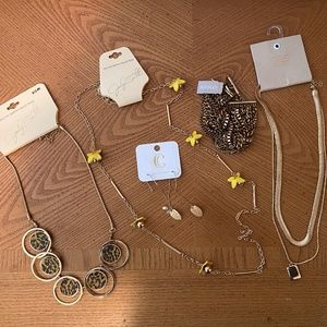 Gold Jewelry Bundle ~ Name Brands!